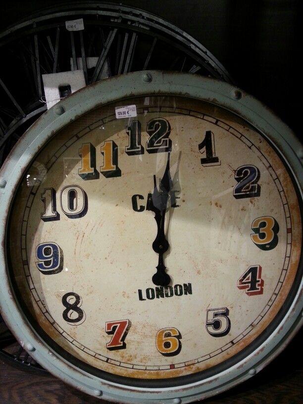 Horloge Pendule Murale Publicité Vintage Maison Du Monde