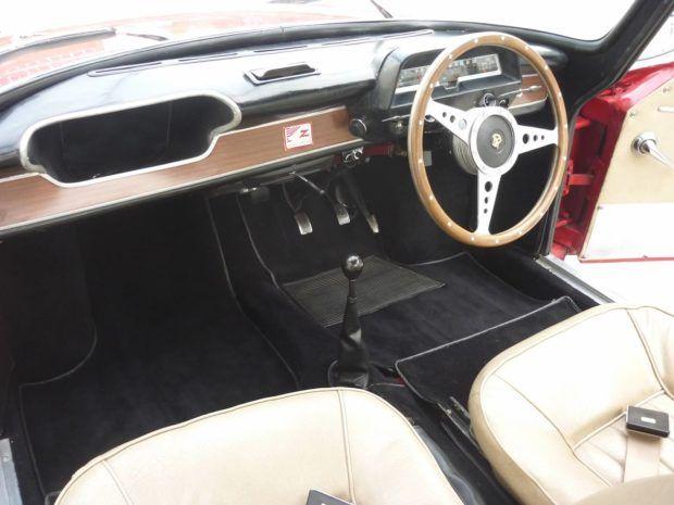 Zagato Bodied 1963 Hillman Zimp Body Classic Cars Online Black Carpet