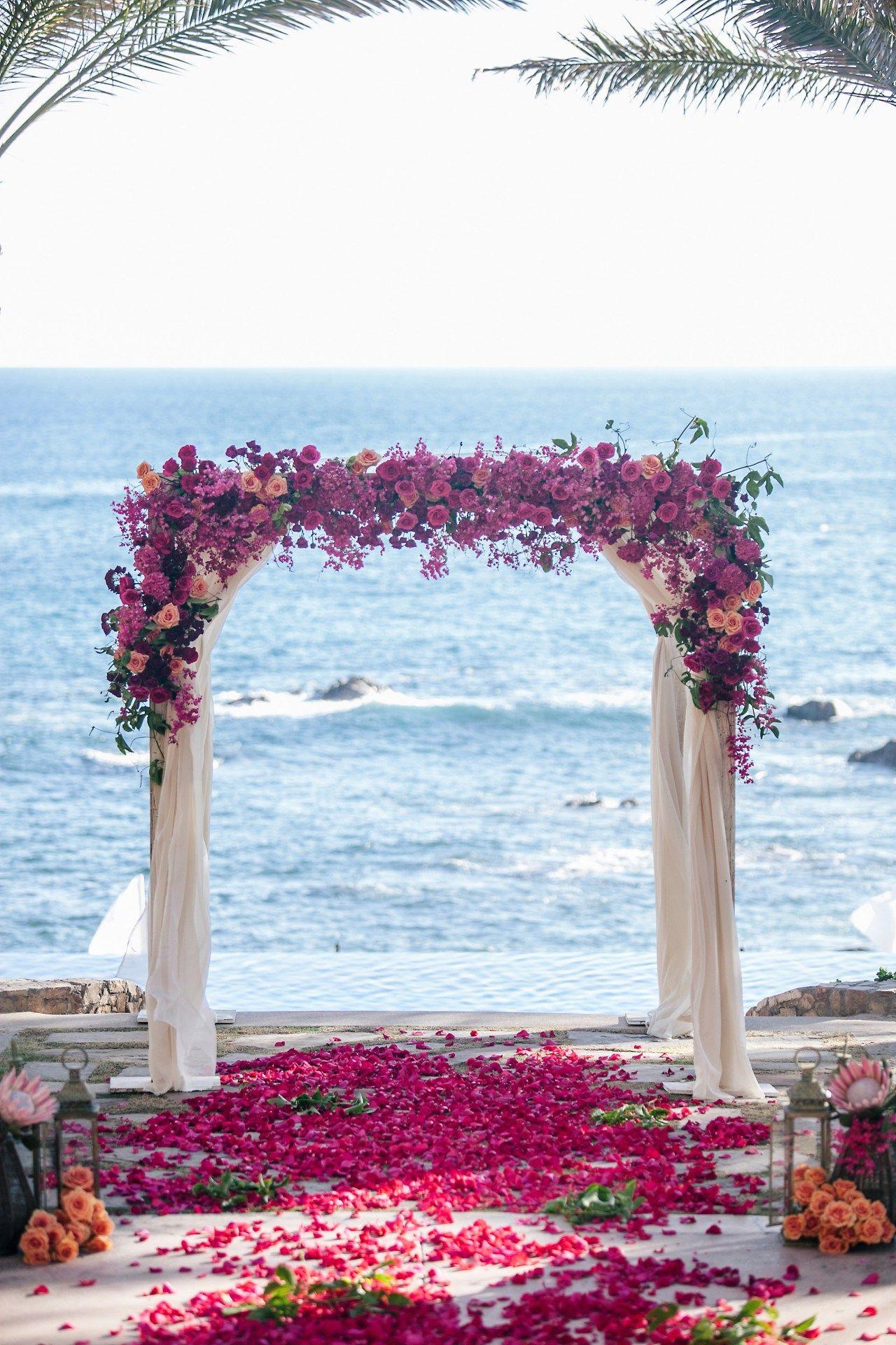 Beach wedding arches 1 wedding arch beach wedding
