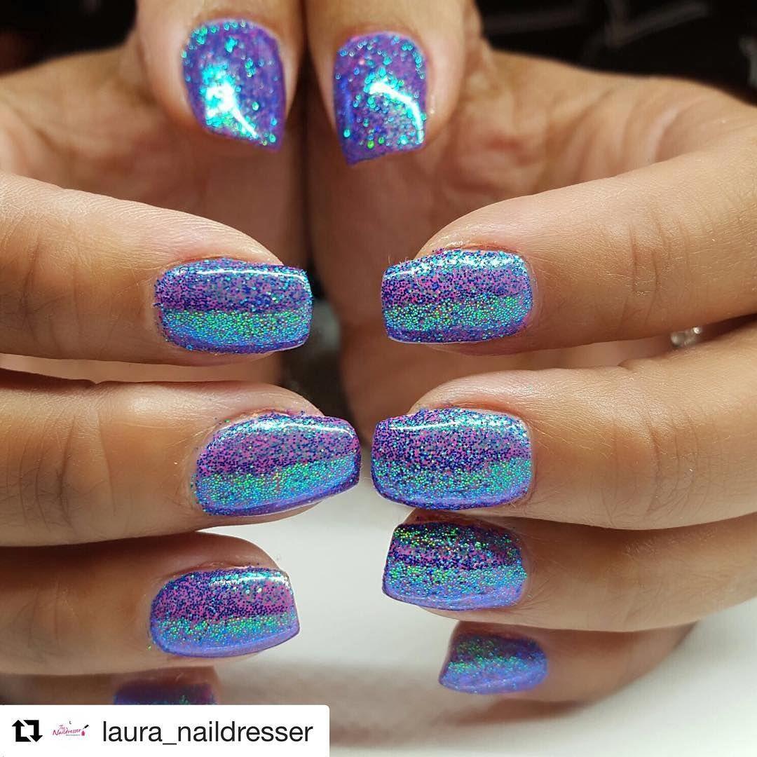 lecent ocean iridescent glitter