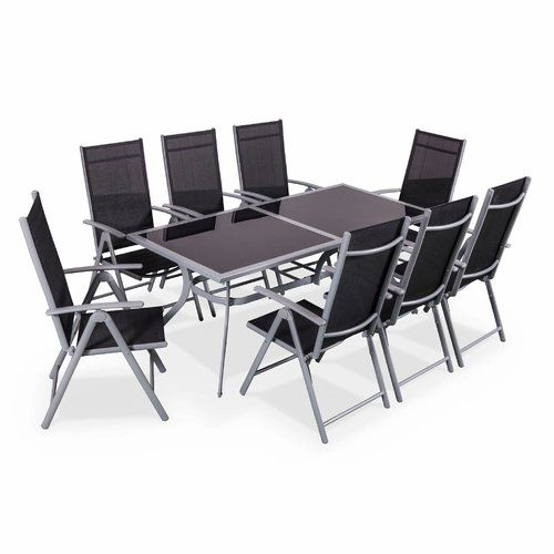 Naevia 8 Seater Dining Set Alice\'s Garden in 2019 | Products ...