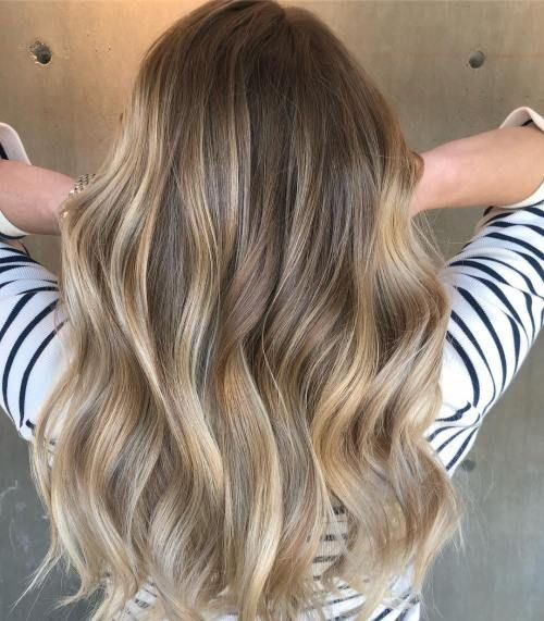 Der vollste Leitfaden für Balayage Hair #darkblondehair