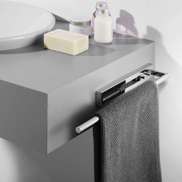 Avenarius Handtuchhalter Ausziehbar 580 Mm Handtuchhalter Rund, Badezimmer  Accessoires, Ausziehen, Neue Küche,