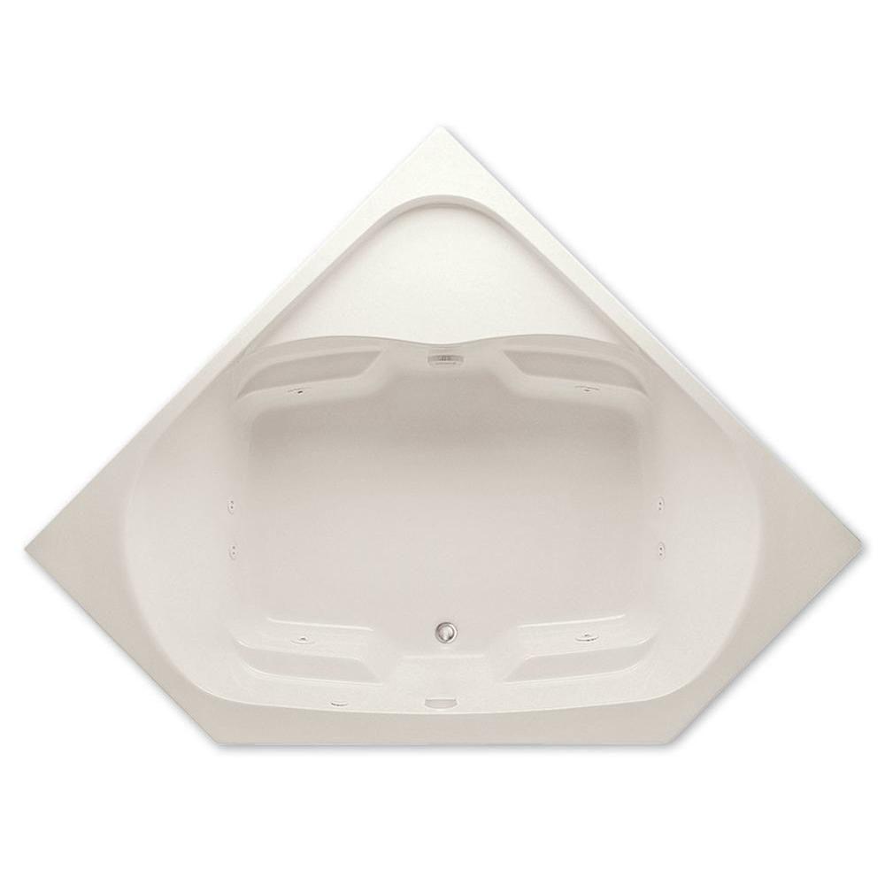 Aquatic Cavalcade 5 ft. Center Drain Acrylic Whirlpool Bath Tub with ...