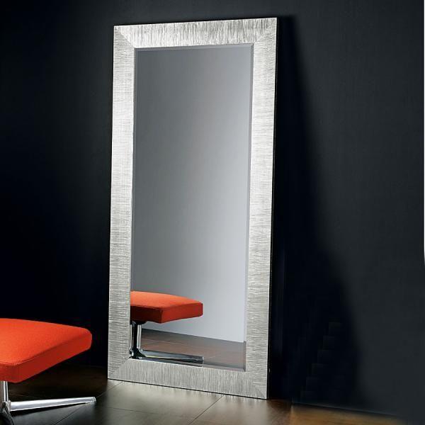 Full Length Pezzani Mirror in Silver Leaf   Mirrors   Pinterest ...