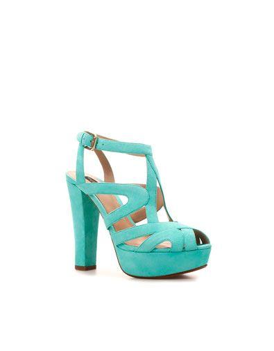 d3d122791b53 PLATFORM HEEL SANDAL - Shoes - Woman - New collection - ZARA United States