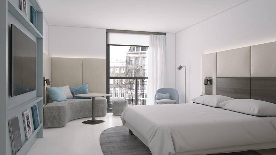¡Nuestra prioridad es que te sientas en casa! Disfruta de las habitaciones acogedoras de Amsterdam Marriott Hotel.