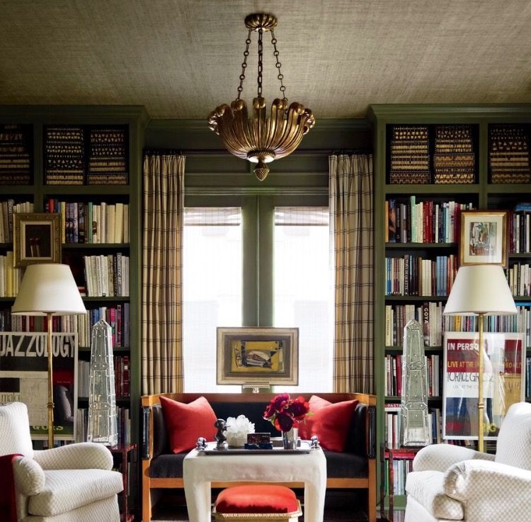 J Randall Powers Interior Design: Pin By Cheri Anderson On Book Spaces & Places