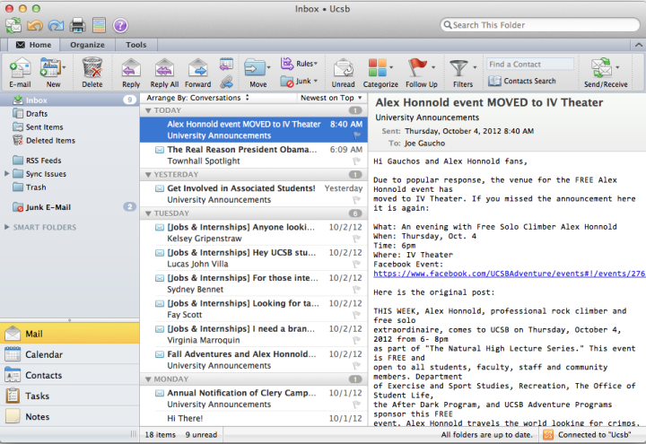 Swift Methodology to Access the MAC for Outlook Data items ...