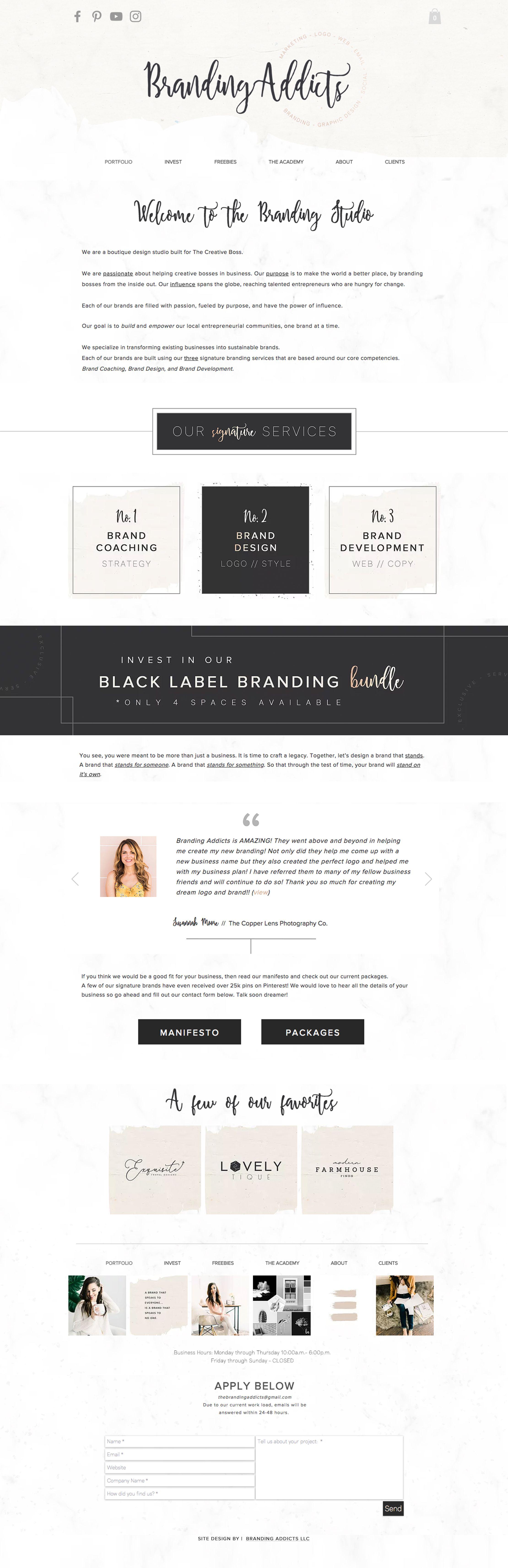 Neutral Modern Minimalist Farmhouse Rustic Style Design For A Branding Studio Graphic Designer Site Minimal Rose Gold Mood Board Design Design Branding