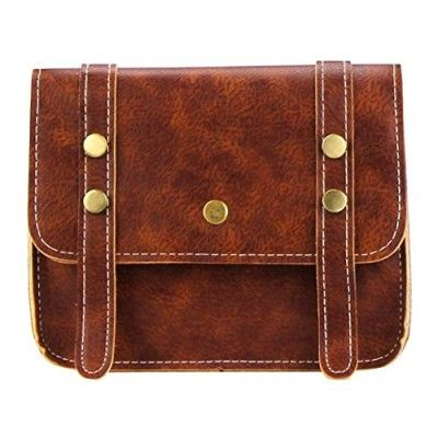 Orangesky Vintage Bag!!! Women Leather Messenger Bags Shoulder Bag Casual Handbag (Brown)