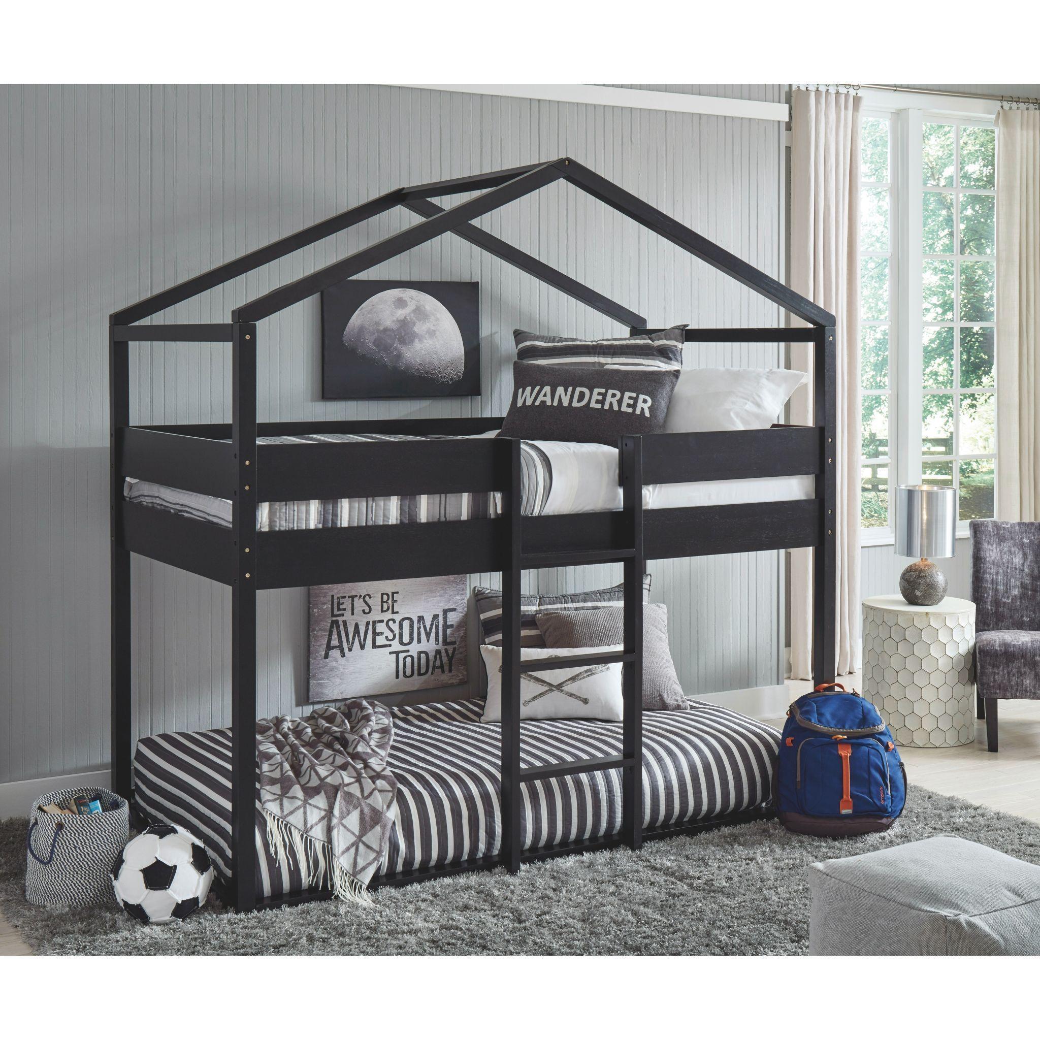 Flannibrook Tt House Loft Bed House Frame Bed House Bunk Bed Loft Bed [ 2048 x 2048 Pixel ]