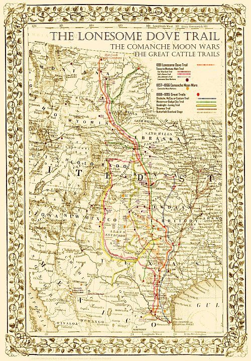 Poster Many Sizes; Map Of The Mexican National Railroad Mexico 1881