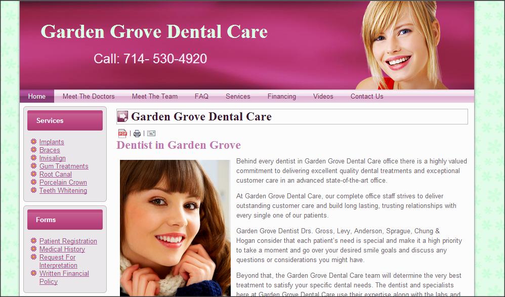 Garden Grove Dentist Implant Dentist Gum Treatment