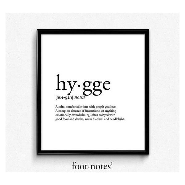Cozy Home Decor Ideas To Be More Hygge: Hygge Definition, Romantic, Dictionary Art Print, Office