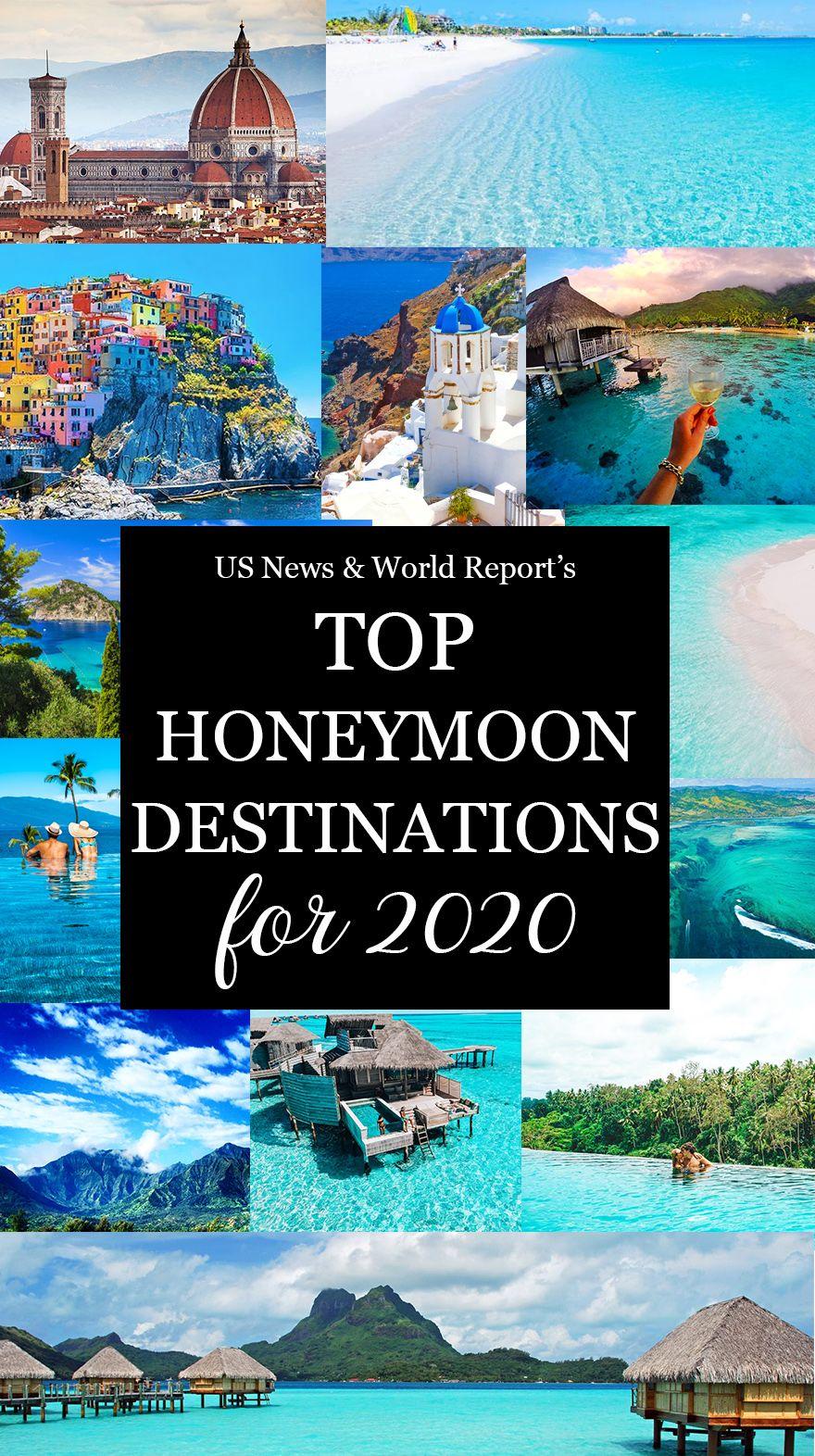 US News & World Report's Ranking Of The Best Honeymoon