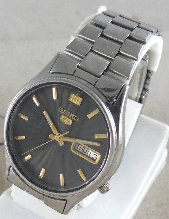 Original Vintage Seiko 5 Automatic 17j Japan 7009 3101 Running Seiko 5 Automatic Seiko Seiko Watches
