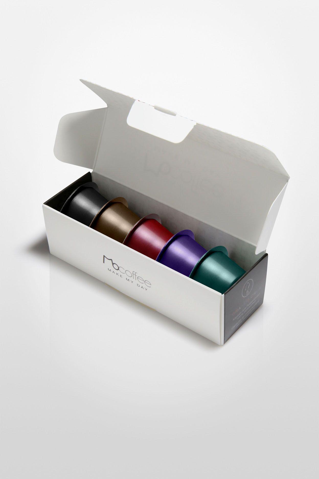 Mocoffee Sample Coffee Capsule Packaging