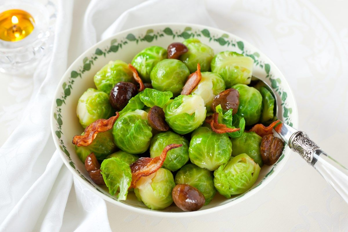 how to store brussel sprouts once peeled
