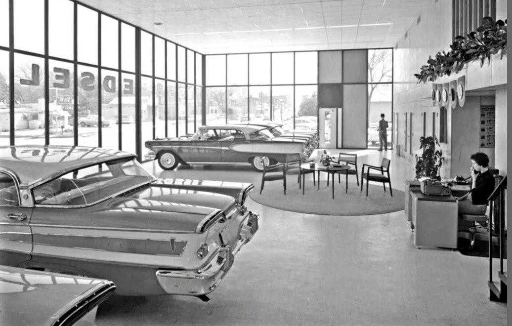 Edsel dealership 1958 Edsel, Car dealership, Dealership