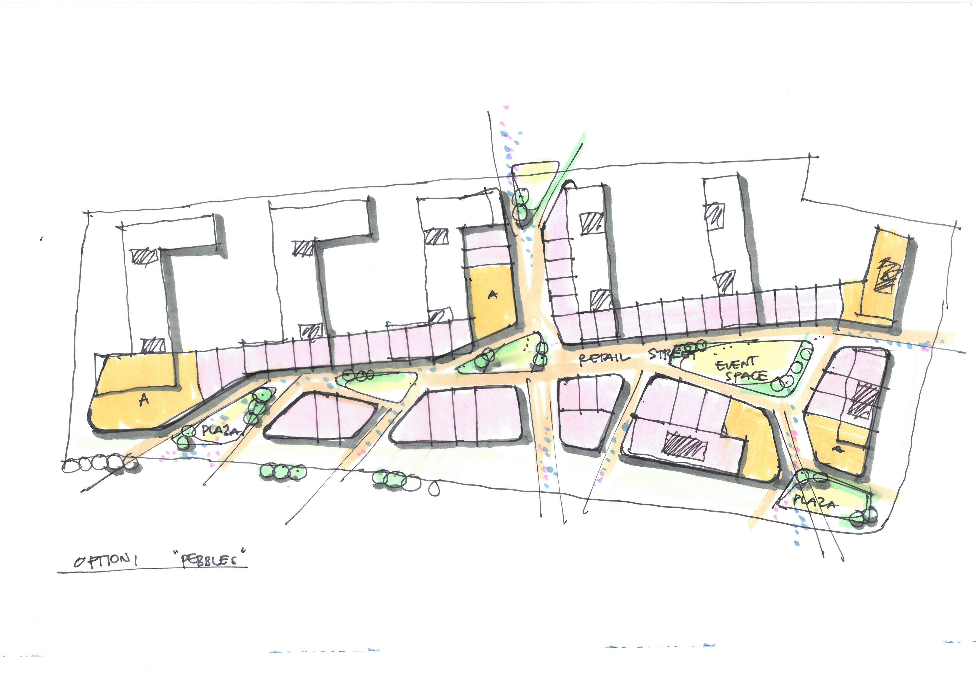 Plan Concept retail plan concept i randy carizo architecture sketches l randy