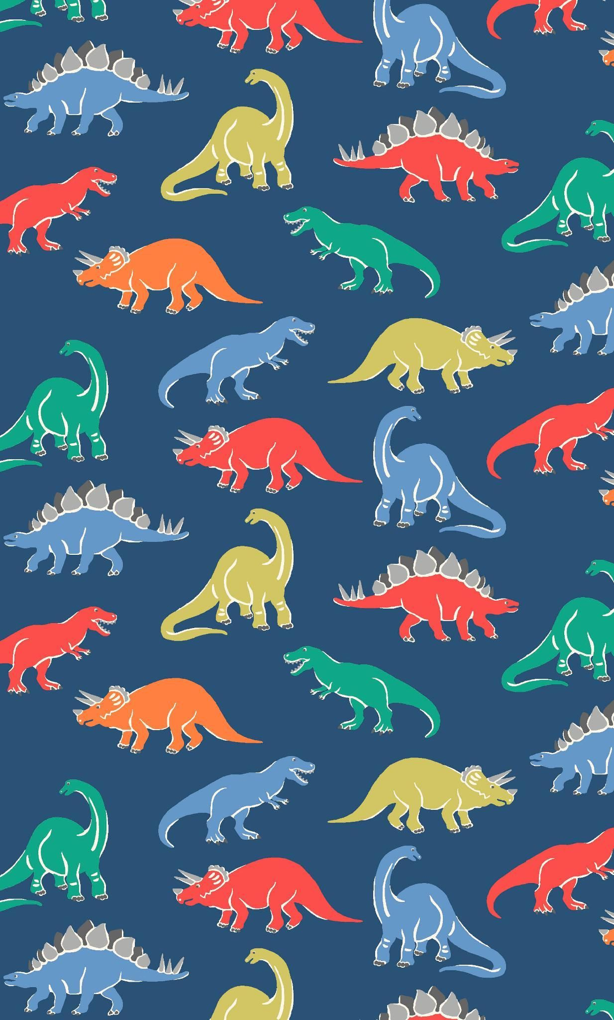 Dino Stamp Little dinosaur fans will love our gang of