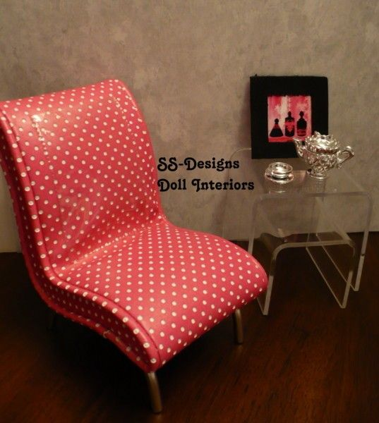 Homemade Barbie Furniture Ideas Inside The Barbie Craft Room
