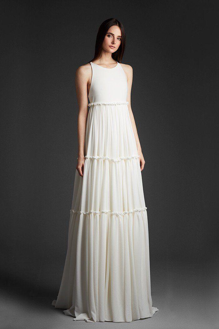 Modest, elegant and unique wedding dresses