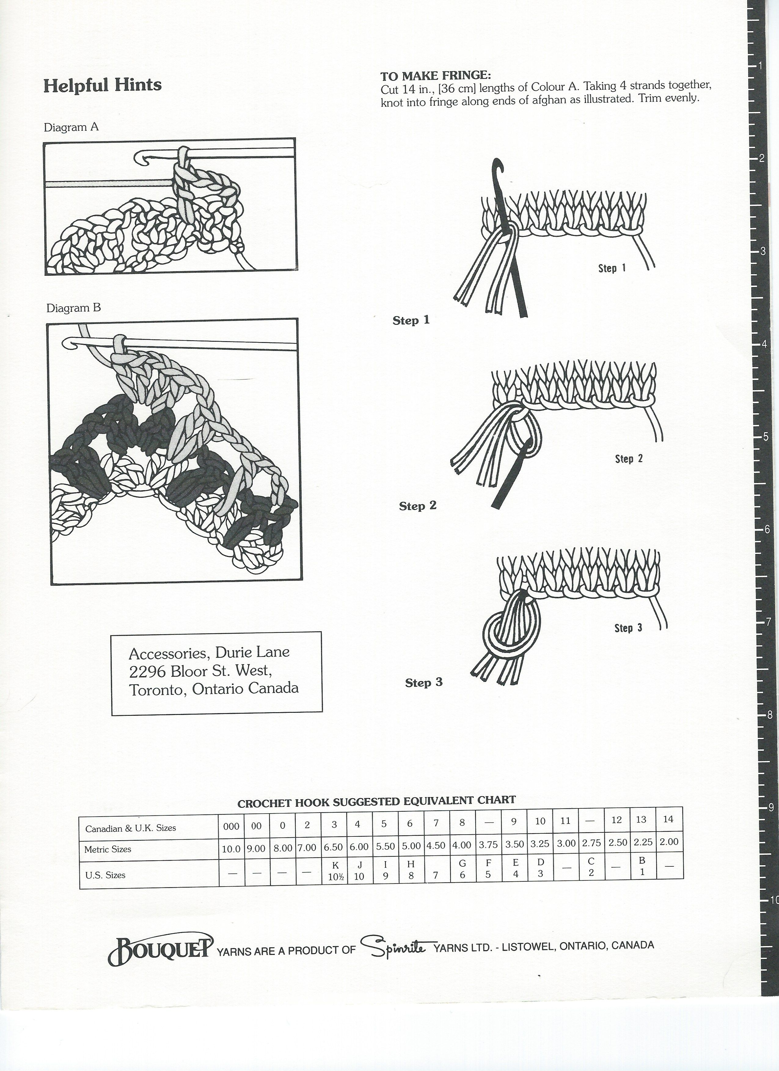 HELPFUL DIAGRAMS FOR THE LACY CHEVRON AFGHAN PATTERN~ PART 2 (Breaking amish)