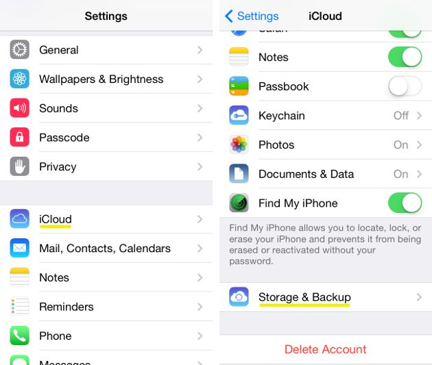 How To Back Up And Restore Your Iphone Iphone Iphone Hacks