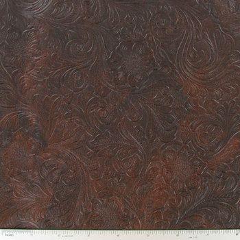 Chestnut Embossed Vinyl Fabric Hobby Lobby 173013 Fabric Decor Vinyl Fabric Cowhide Fabric