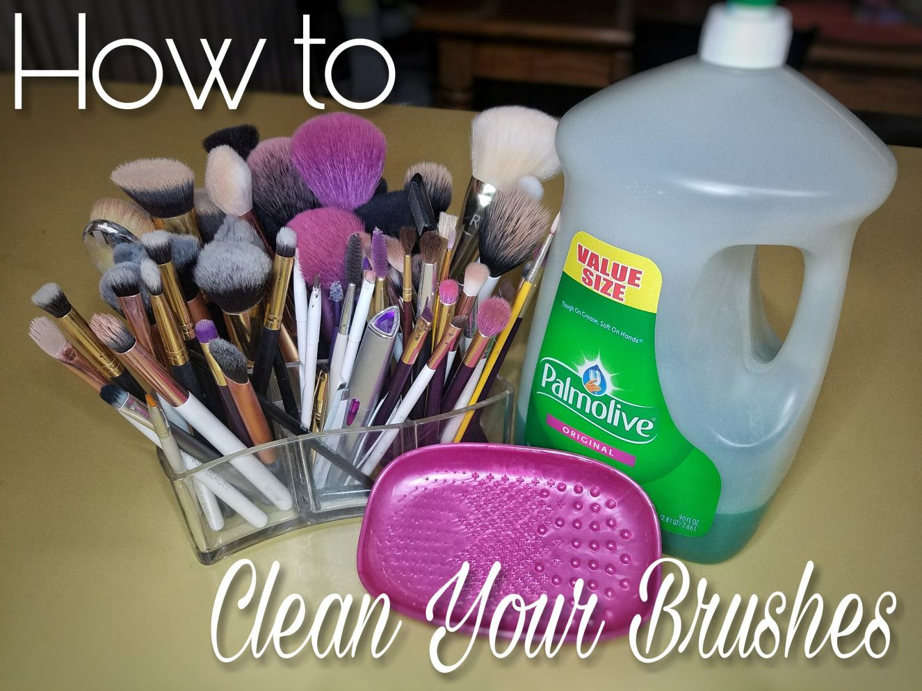 How I Clean My Makeup Brushes Makeup brushes, Eyeshadow