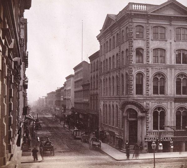 Historic Photo Print View of Sacramento California 1865