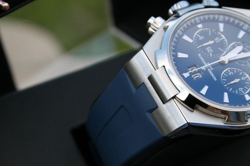 FS: Vacheron Constantin Overseas Chronograph 49150/000A-9745 Steel Blue Stunning - Rolex Forums - Rolex Watch Forum