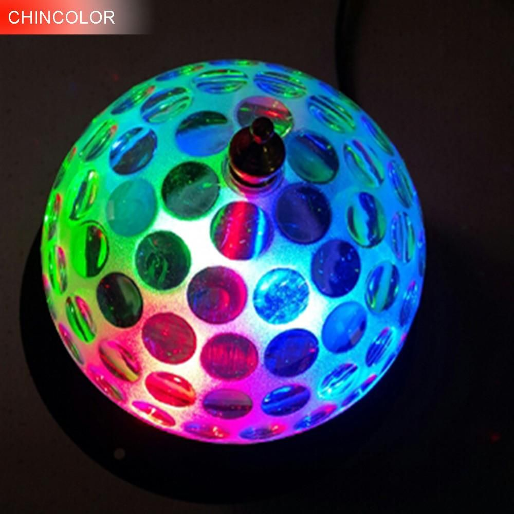 3w Led Auto Rotate Crystal Stage Light Ac85 265v Disco Colorful Ball Light Dj Magic For Party Decoration Ktv Bar Da Ball Lights Crystal Magic Ball Dj Lighting