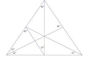 Find the measures of all the angles.
