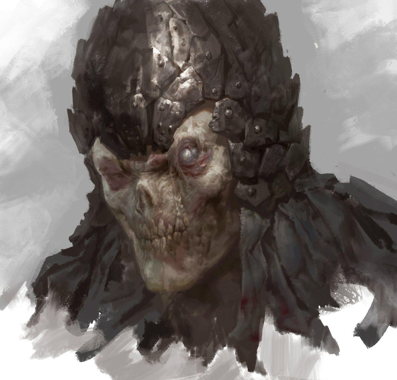 CGwall游戏原画网站_怪物头像
