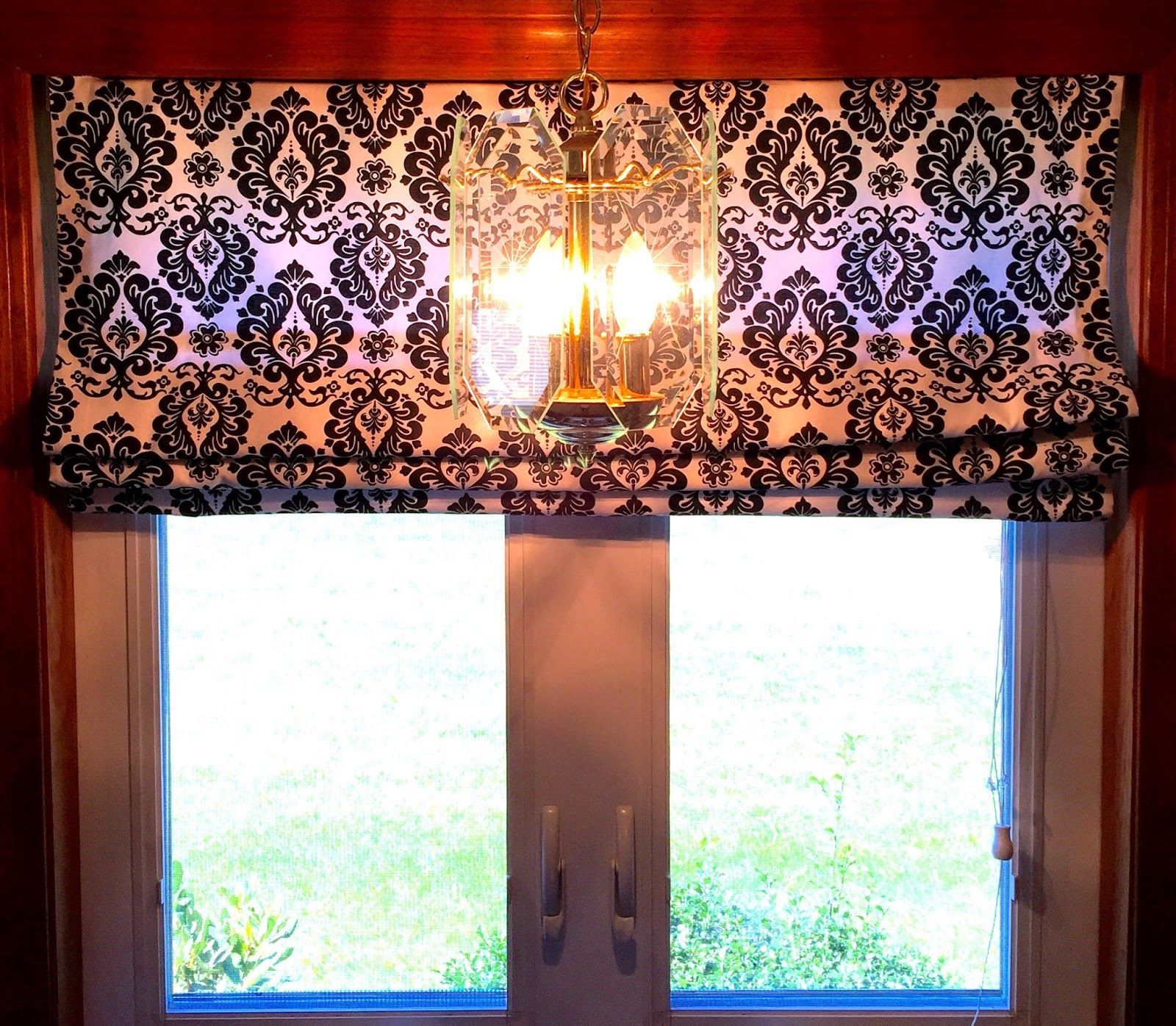 DIY No Sew - LINED ROMAN SHADES Using Mini Blinds | Diy ...