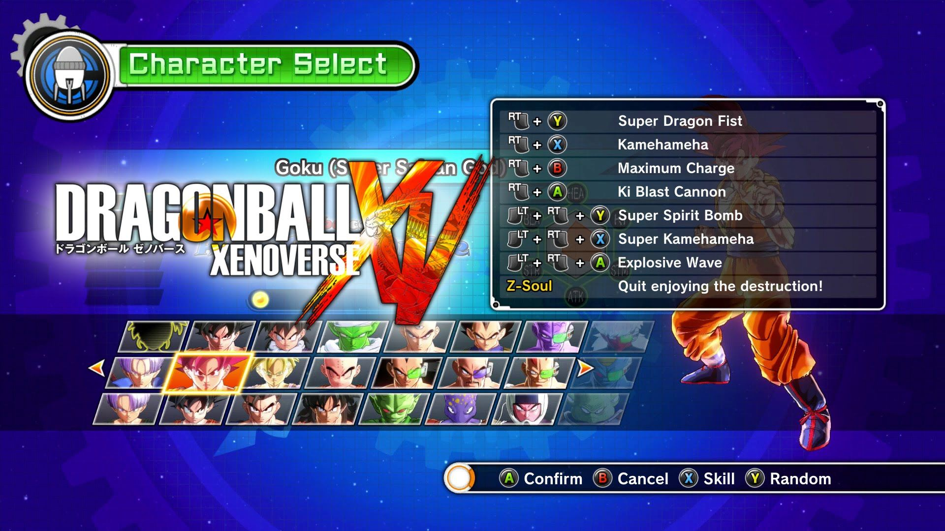 Dragon Ball Xenoverse Moves And Skills All Characters Forms