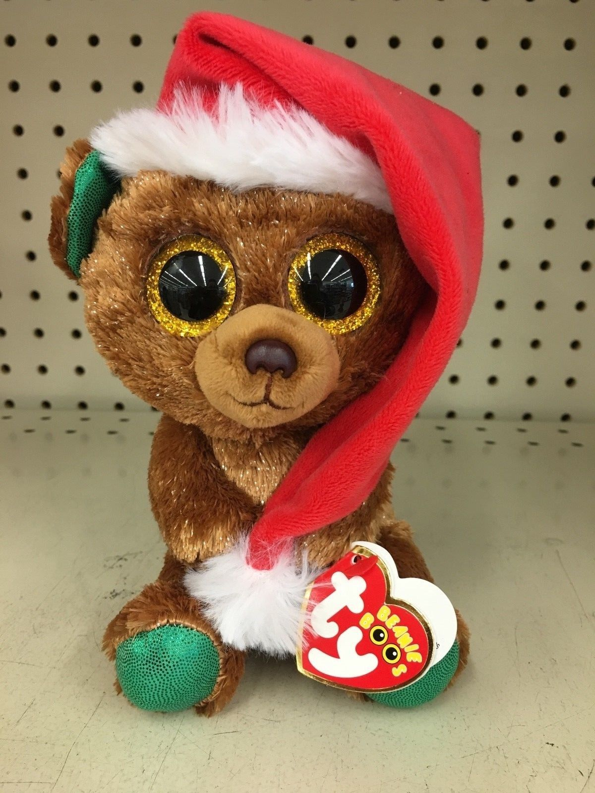 44c722e82d9 Ty 19203  Ty Beanie Boo Nicholas The Christmas Bear 6 Mwmt-In Hand In Us!  -  BUY IT NOW ONLY   11.99 on  eBay  beanie  nicholas  christmas