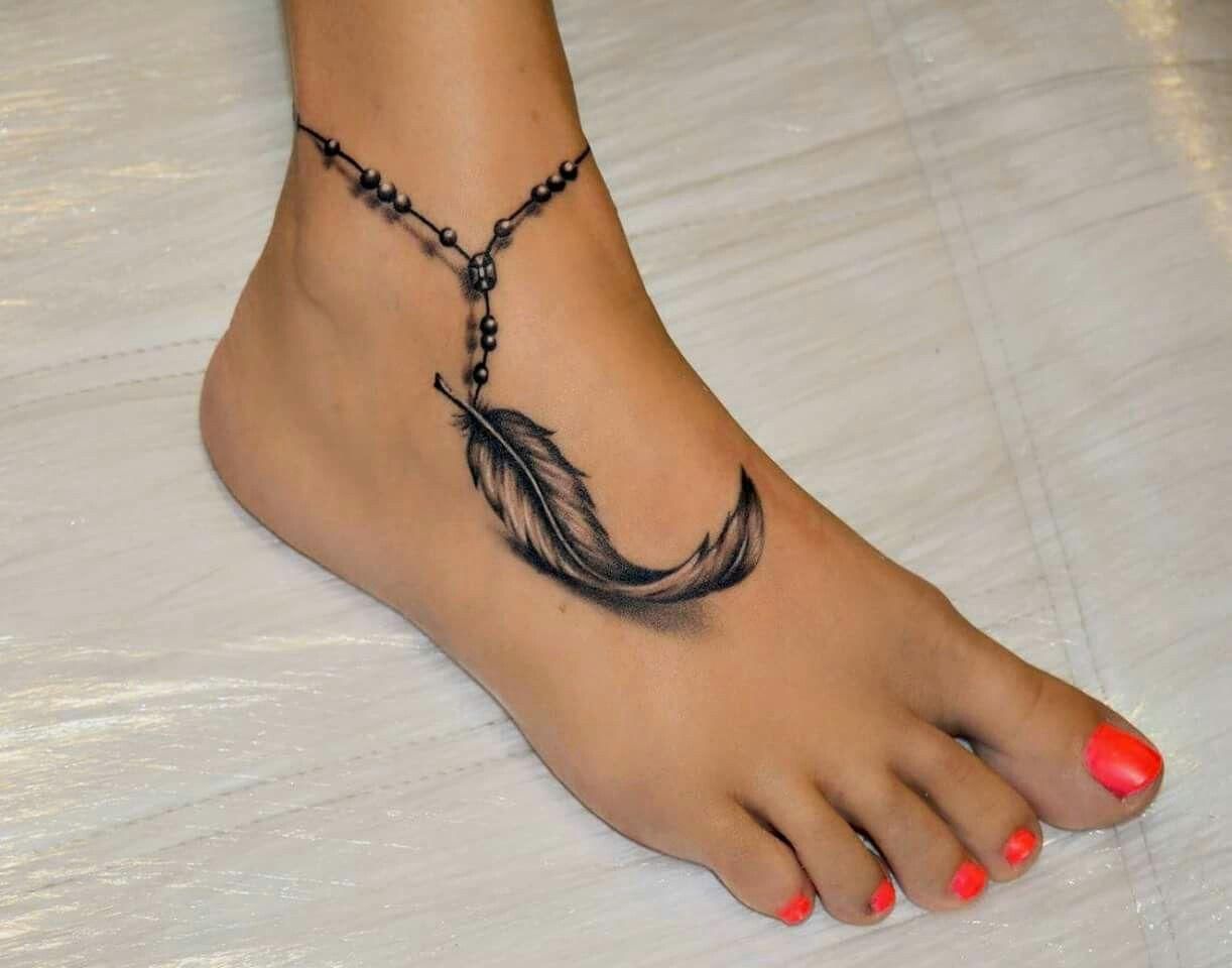 Immagine correlata tattoos pinterest tattoo feet feather