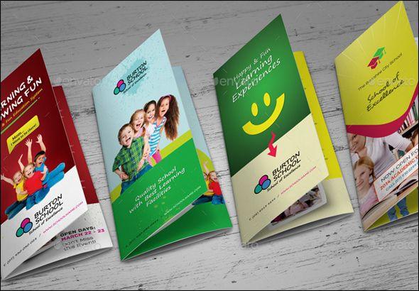 Amazing Free Education Brochure Template Designs Brochures