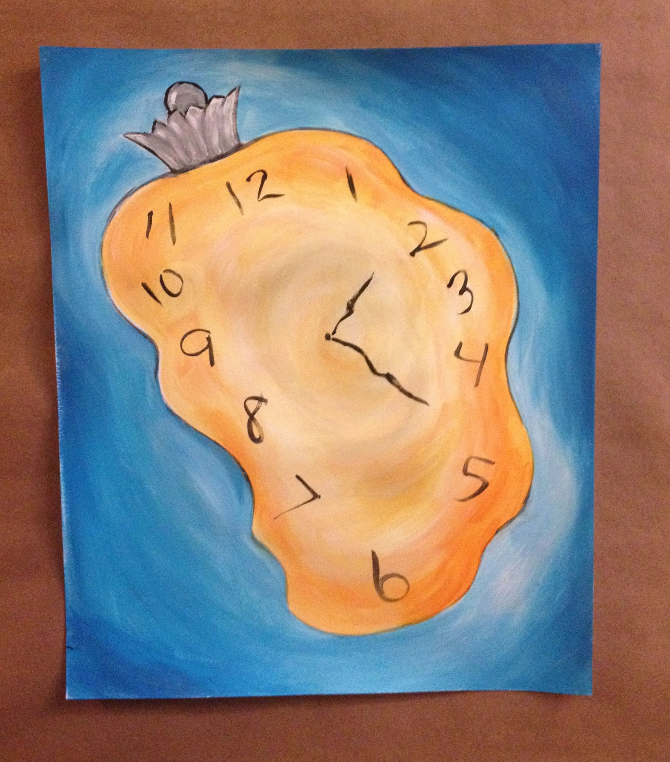 Dali S Melting Clock Creative Art Workshop For Kids With Images