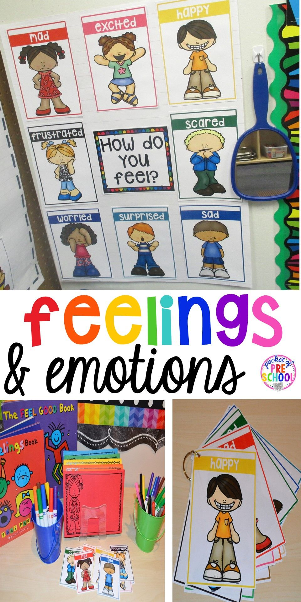 Everything you need to teach all about feelings for back