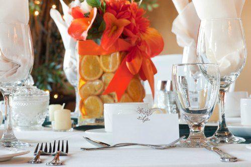 Centros de mesa para las bodas de otoño