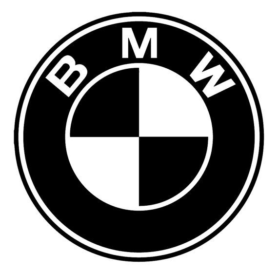 bmw logo emblem garage dealership wall art by. Black Bedroom Furniture Sets. Home Design Ideas