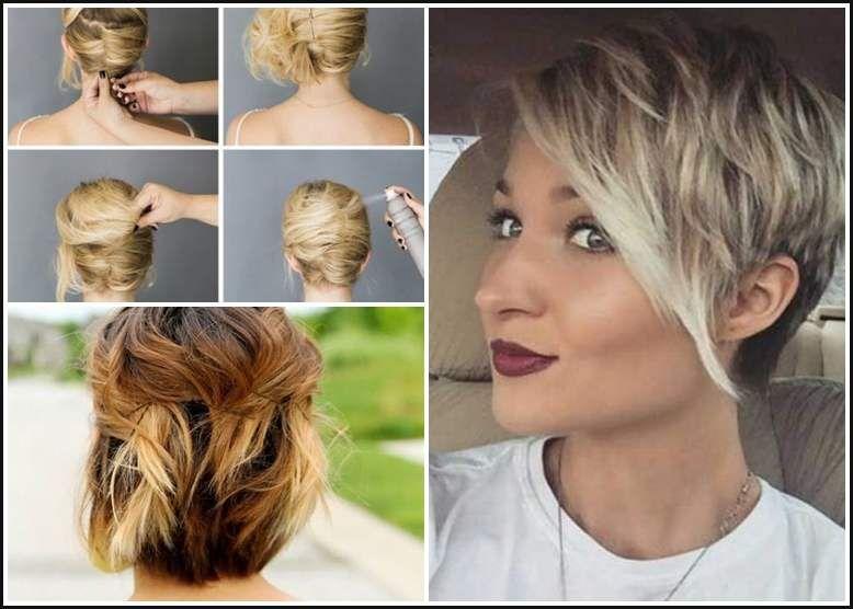 schöne frisuren für kurze haare zum selber machen | bob