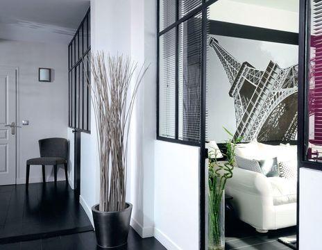 9 mois pour rénover une maison de ville Salons, Corridor and Hall