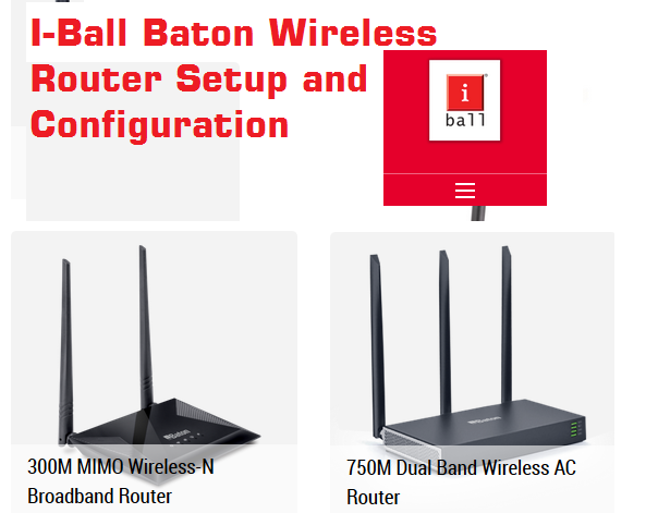 iball baton 150mbps wireless n router configuration (with