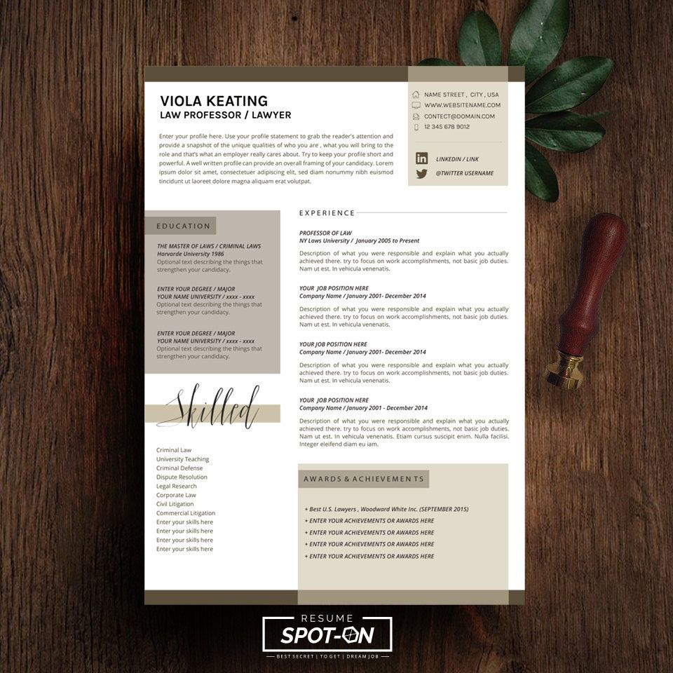 resume Editable Resume Download spotlighting you to the best candidate with uniquecredibility design resumecv template